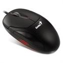 Genius 31010144101 - Xscroll Ps2 G5 (Black Optical) - Interface: Ps2; Color Principal: Negro; Mac: No; Tipo De